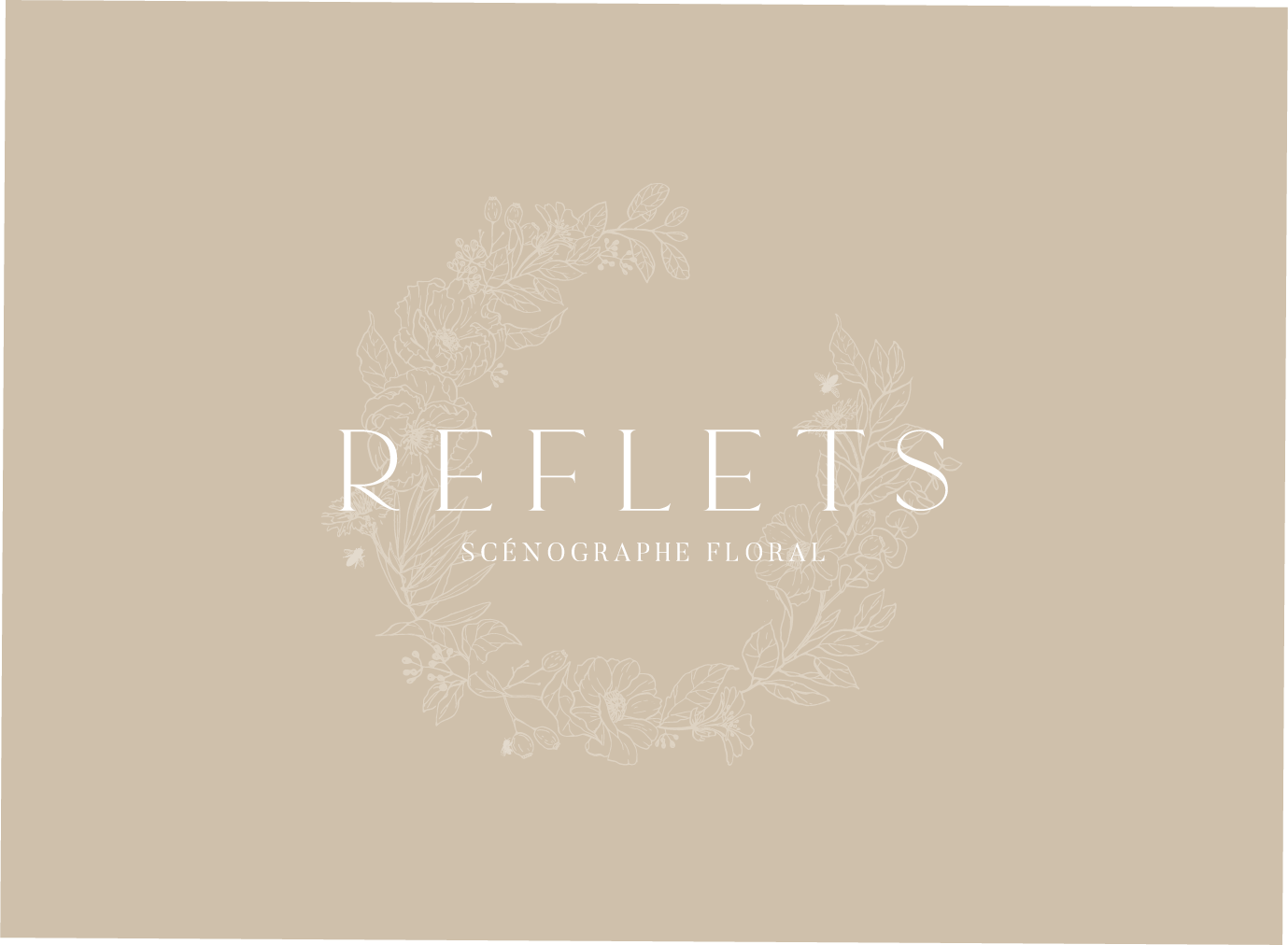 IDENTITE VISUELLE - STUDIO QUOTIDIEN - REFLETS FLEURS